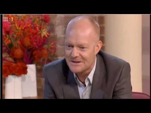"""Jake Wood being """"a wife to his husband"""" on This Morning"""