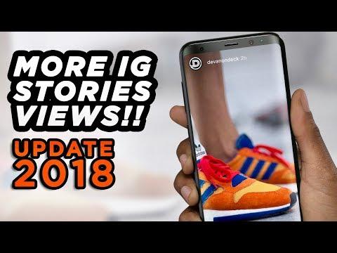 Get MORE Instagram Stories Views 🔥 UPDATE 2018 | IG Story Tips + Tricks | DevanOnTech Mp3