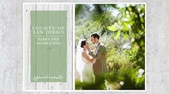 Wedding Venues at San Diego County Parks