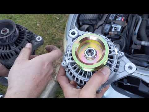 How To Replace The Alternator On A 2000 Honda Accord 2.3 L