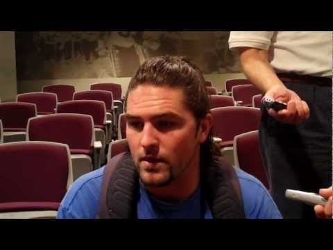 Cam Lawrence Post-Practice Interview - 10/2/12