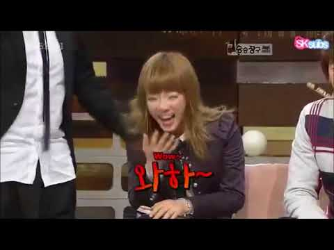 When Taeyeon laughs - All hell breaks lose