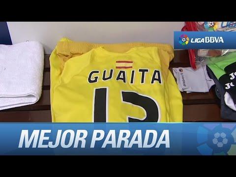 Guaita realiza la mejor parada de la Jornada 14 frente al Real Madrid
