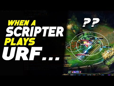 When a Scripter Gets Vel'koz in URF.... (League of Legends) thumbnail