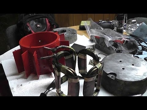 How To Build A Dune Buggy From Scratch - 013 - Golf Cart Motor Rebuild - Part 2