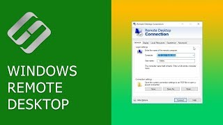 Watch how to connect to remote desktop of another computer within a...
