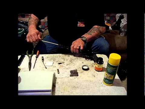 Cleaning the Raging Bull 444 .44 Magnum Revolver