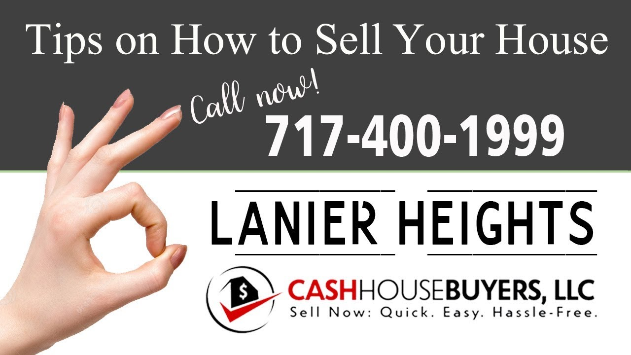 Tips Sell House Fast Lanier Heights Washington DC | Call 7174001999 | We Buy Houses