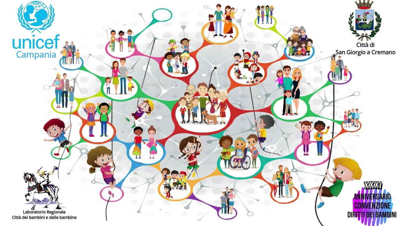 IV Edizione Staffetta sui Diritti dei Bambini UNICEF - YouTube