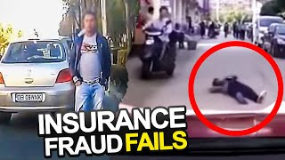 Insurance Dashcam Fraud Fails