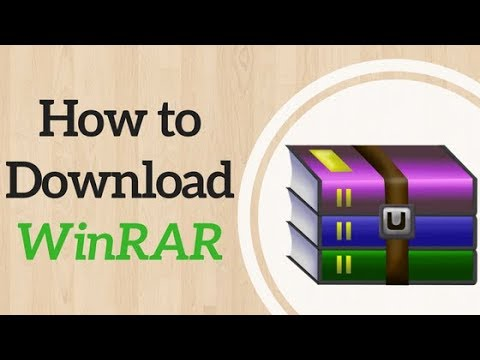 """How to download WINRAR (""""extract here"""" fix) [2018 working]"""