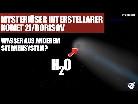 Mysteriöser interstellarer Komet 2I/Borisov - Wasser aus anderem Sternensystem?
