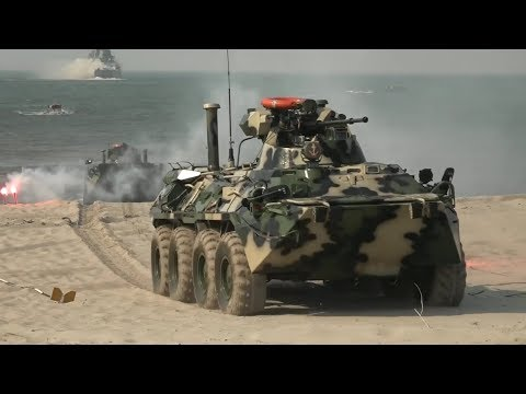 How Russian Marines Would Invade A Beach