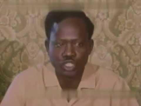 General Joseph Lagu holding press conference on 1972 Addis Ababa agreement.