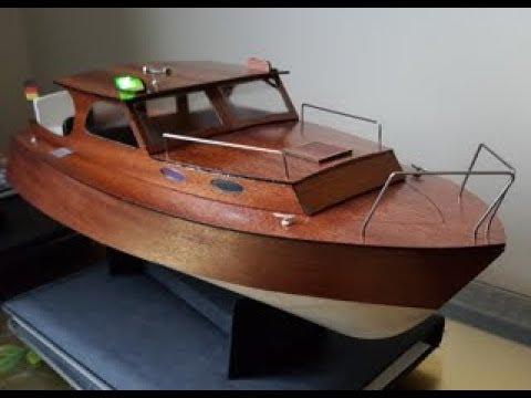 Model Boat Kit By Aeronaut Diva