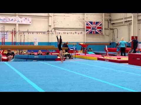 4K video Tia Rayner floor routine.