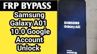 Samsung Galaxy A01 (10.0 + U7) Frp Bypass without pc 2020 / A015 Google Account Unlock - Unlock A01