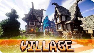Map Medieval Village 1