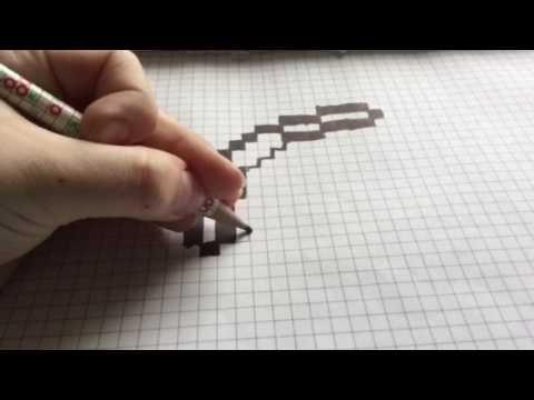 Как нарисовать лук из которого стреляют