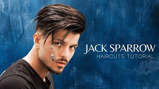 Jack Sparrow Inspired Hairstyle & Haircuts Tutorials | Men