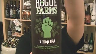 Rogue Ales - Rogue Farms 7 Hop IPA - HopZine Beer Review