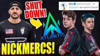 Is Nickmercs REALLY Back? Clix & Scpetic DUO? Atlantis SHUTS DOWN! KNG Punished me for Clickbaiting!