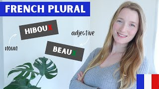 French plural ending in X | Plural of nouns and adjectives