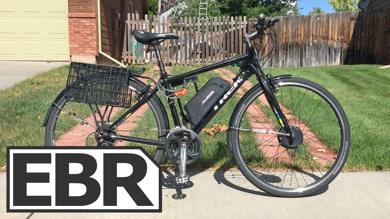 Dillenger Street Legal Electric Bike Kit Video Review Youtube