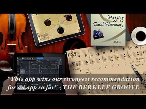 No.1 Music Education App. Mapping Tonal Harmony Pro
