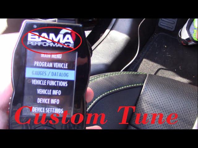 How to: Load Custom Tune for SCT X4 | LUND Tune | S550