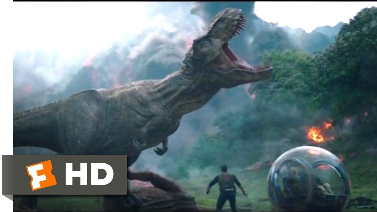 Jurassic World Fallen Kingdom 2018 Saved By Rexy Scene 4 10 Jurassic Park Fansite Youtube