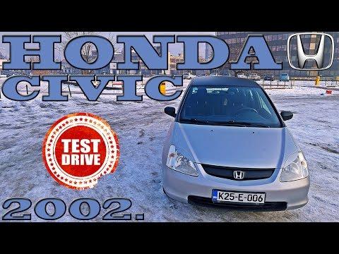 ECONOMY JDM :) HONDA CIVIC 1.7 CTDI 2002. - TEST POLOVNIH VOZILA