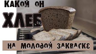 Выпечка хлеба Хлеб на молодой закваске Какой он самый первый хлеб