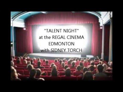 "SIDNEY TORCH ""Talent Night at the REGAL EDMONTON"""