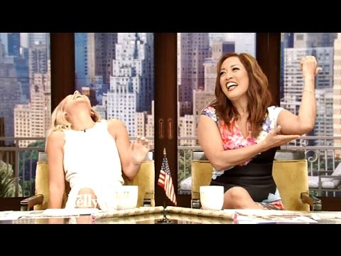 Carrie Ann Inaba CoHosts With LiveWithKelly
