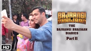 The Bajrangi Bhaijaan Diaries - Part II | First day Shoot