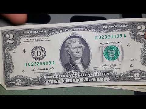 BICENTENNIAL STAR NOTE! $2 Bill Searching For Rare Notes And Serial Numbers