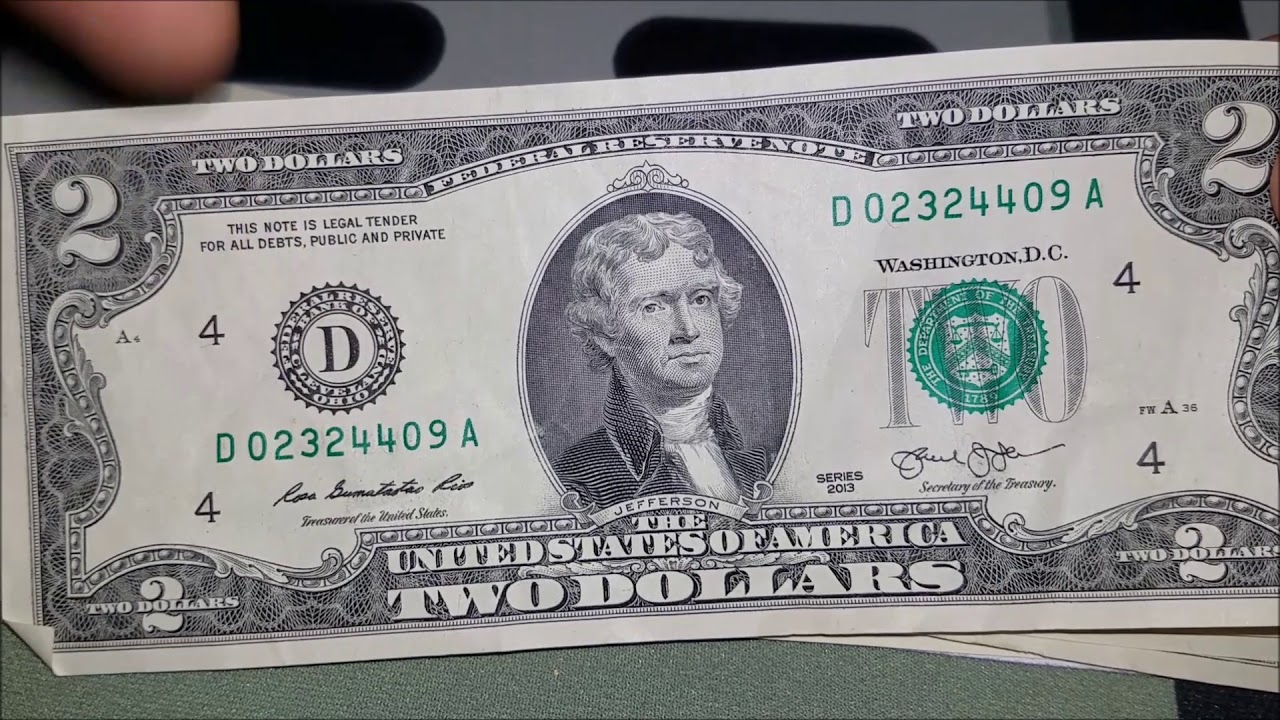 Bicentennial Star Note   2 Bill Searching For Rare Notes