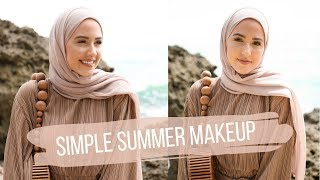 My Simple Glowy Summer Makeup Tutorial! + My Current Fave Foundations