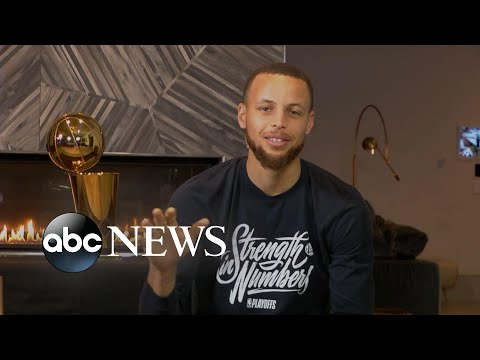 Steph Curry talks NBA Finals win