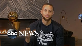 Steph Curry talks NBA Finals win