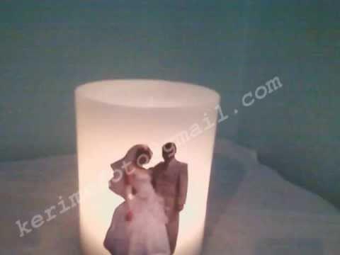 Χειροποίητο κερί με φωτογραφία