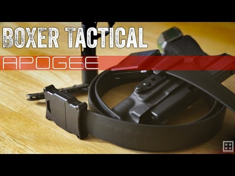 Boxer Tactical Apogee Belt is Tacti-Classy!
