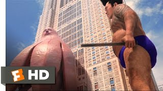 Big Man Japan (6/10) Movie CLIP - The Stink Monster (2007) HD