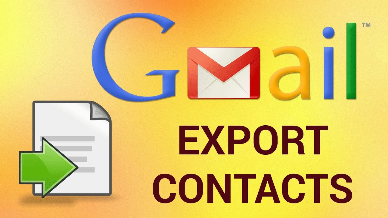 How to Export All Your Gmail Contacts