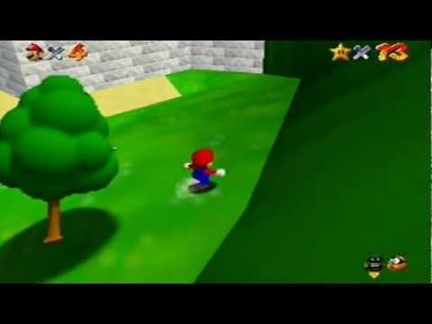 How To Get On Top Of Castle Mario 64