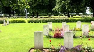 Le Cateau Military Cemetery, France