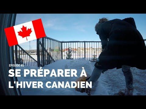 Préparez-vous Pour L'Hiver Canadien !