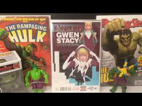 COMIC BOOK HAUL #15 MASSIVE HAUL VIDEO!!!! BETTER LATE THEN