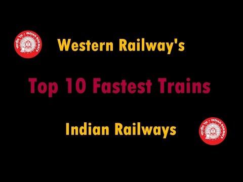 Biggest Hit | Western Railway's Top 10 Fastest Trains